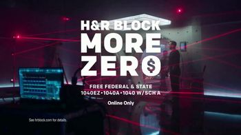 H&R Block More Zero TV Spot, 'Heist' Featuring Jon Hamm - Thumbnail 9