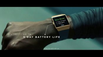 Fitbit Ionic TV Spot, 'Designed for Fitness: $30 Off' - Thumbnail 9