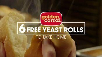 Golden Corral Smokehouse TV Spot, 'Smokehouse & Free Yeast Rolls'