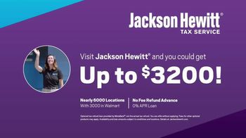 Jackson Hewitt No Fee Refund Advance TV Spot, 'Don't Wait' - Thumbnail 9
