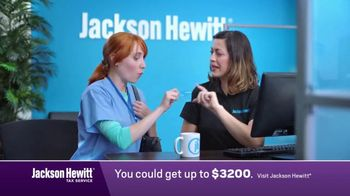 Jackson Hewitt No-Fee Refund Advance TV Spot, \'Don\'t Wait: Nurse\'