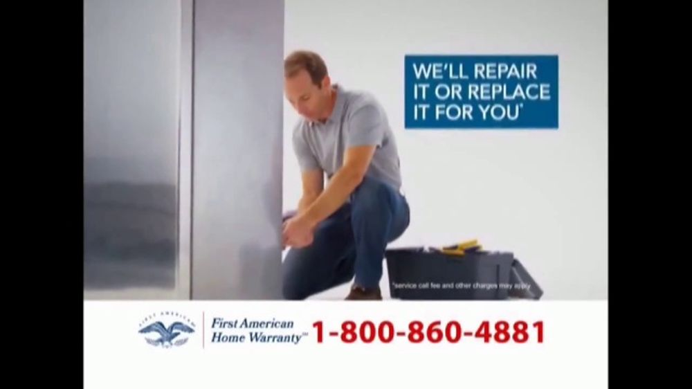 First American Home Warranty Plan TV Commercial, U0027Repair Or Replaceu0027    ISpot.tv