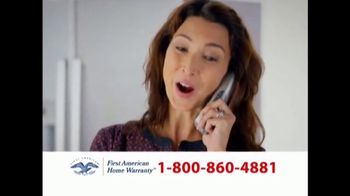 First American Home Warranty Plan TV Spot, 'Repair or Replace' - Thumbnail 3