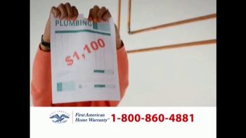 First American Home Warranty Plan TV Spot, 'Repair or Replace' - Thumbnail 5