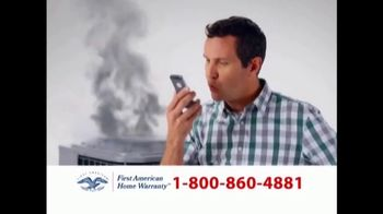 First American Home Warranty Plan TV Spot, 'Repair or Replace' - Thumbnail 6
