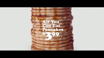 IHOP $3.99 All You Can Eat Pancakes TV Spot, 'Stacks' - Thumbnail 2