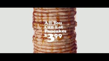 IHOP $3.99 All You Can Eat Pancakes TV Spot, 'Stacks' - Thumbnail 3