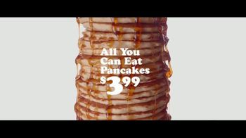 IHOP $3.99 All You Can Eat Pancakes TV Spot, 'Stacks' - Thumbnail 8