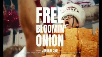 Outback Steakhouse TV Spot, 'Outback Bowl: Free Bloomin' Onion' - Thumbnail 4