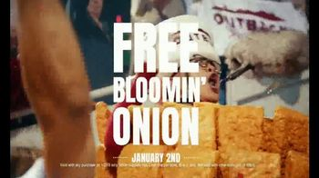 Outback Steakhouse TV Spot, 'Outback Bowl: Free Bloomin' Onion' - Thumbnail 5