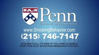 University of Pennsylvania TV Spot, 'Smoking Behavior Study' - Thumbnail 9