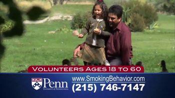 University of Pennsylvania TV Spot, 'Smoking Behavior Study' - Thumbnail 4