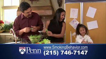 University of Pennsylvania TV Spot, 'Smoking Behavior Study' - Thumbnail 7