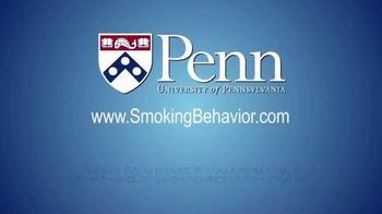 University of Pennsylvania TV Spot, 'Smoking Behavior Study' - Thumbnail 8