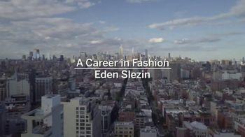 Academy of Art University TV Spot, 'Career in Fashion: Eden Slezin' - Thumbnail 1