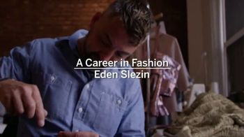 Academy of Art University TV Spot, 'Career in Fashion: Eden Slezin'