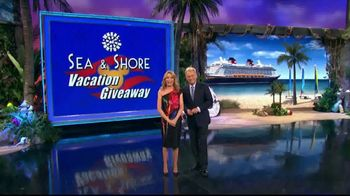 Disney Cruise Line TV Spot, 'Wheel of Fortune: Sea & Shore Giveaway' - Thumbnail 1