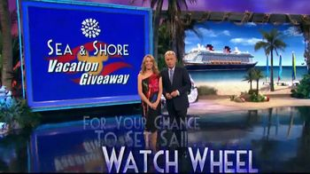 Disney Cruise Line TV Spot, 'Wheel of Fortune: Sea & Shore Giveaway' - Thumbnail 7