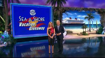 Disney Cruise Line TV Spot, 'Wheel of Fortune: Sea & Shore Giveaway' - 2 commercial airings