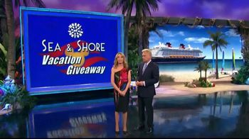 Disney Cruise Line TV Spot, 'Wheel of Fortune: Sea & Shore Giveaway'