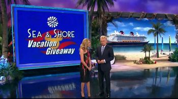 Disney Cruise Line TV Spot, 'Wheel of Fortune: Sea & Shore Giveaway' - Thumbnail 3