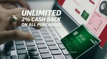 Capital One Spark Cash TV Spot, 'Roll Back Into Business' - Thumbnail 4