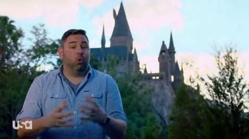 The Wizarding World of Harry Potter TV Spot, 'USA Network: Christmas' - Thumbnail 5