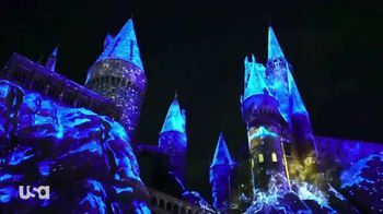 The Wizarding World of Harry Potter TV Spot, 'USA Network: Christmas' - 4 commercial airings