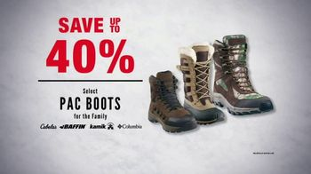 Cabela's Midwinter Clearance Sale TV Spot, 'Boots and Cabinet Smokers' - Thumbnail 4