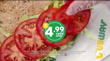 Subway $4.99 Footlongs TV Spot, 'Casi nada' [Spanish] - Thumbnail 5