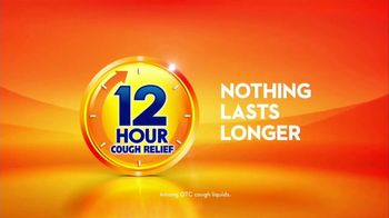 Delsym 12-Hour Cough Relief TV Spot, 'The Joy of Not Coughing' - Thumbnail 8