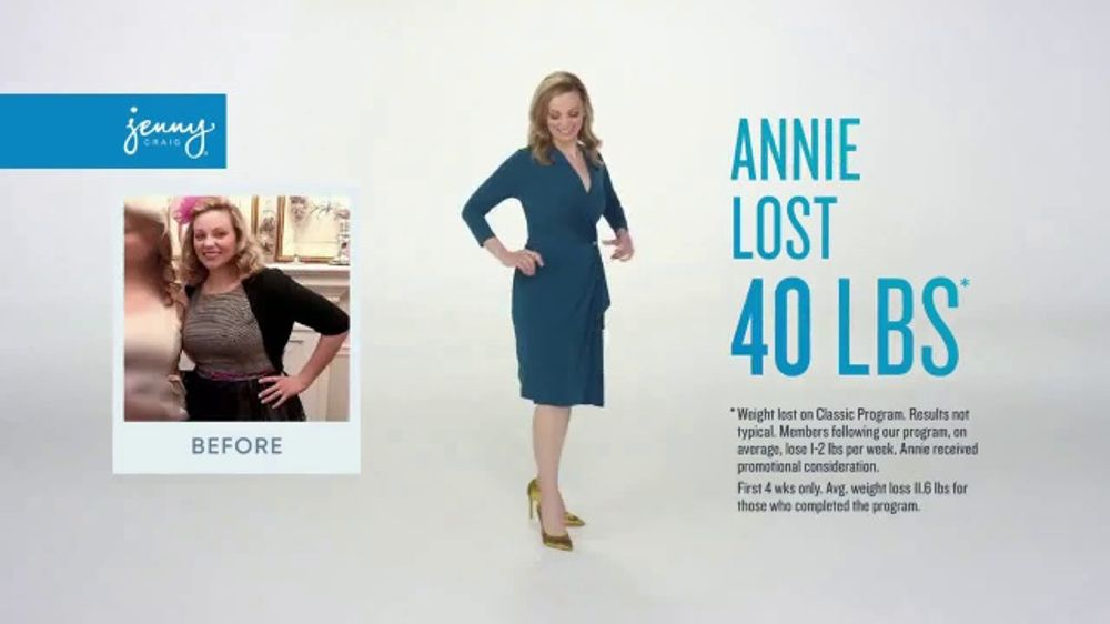 Jenny Craig Rapid Results Tv Commercial One On One Support Ispot Tv