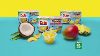 Dole Fruit Bowls TV Spot, 'Color Me Coconut' - Thumbnail 10