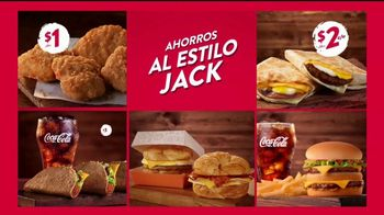 Jack in the Box Value Jack's Way TV Spot, 'De cinco' [Spanish] - Thumbnail 5