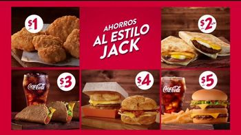 Jack in the Box Value Jack's Way TV Spot, 'De cinco' [Spanish] - Thumbnail 6