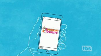 Dunkin' Donuts On-the-Go Mobile Ordering TV Spot, 'TBS: Morning Person' - Thumbnail 6