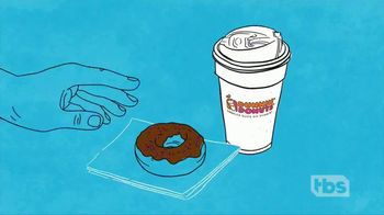 Dunkin' Donuts On-the-Go Mobile Ordering TV Spot, 'TBS: Morning Person' - Thumbnail 8