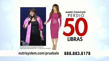 Nutrisystem Turbo 13 TV Spot, 'Garantizado' con Marie Osmond [Spanish] - 128 commercial airings