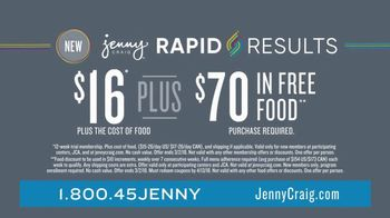 Jenny Craig Rapid Results TV Spot, 'Amanda Lost 40 Lbs' - Thumbnail 10
