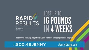 Jenny Craig Rapid Results TV Spot, 'Amanda Lost 40 Lbs' - Thumbnail 4