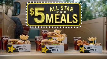 Carl's Jr. $5 All Star Meals TV Spot, 'All Kinds of Goodness' - Thumbnail 1