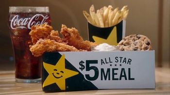 Carl's Jr. $5 All Star Meals TV Spot, 'All Kinds of Goodness' - Thumbnail 3