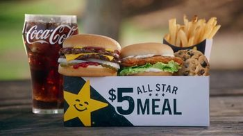 Carl's Jr. $5 All Star Meals TV Spot, 'All Kinds of Goodness' - Thumbnail 5