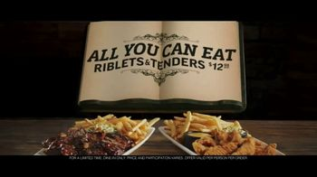 Applebee's All You Can Eat Riblets & Tenders TV Spot, 'Table' - Thumbnail 10