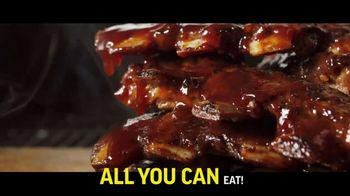 Applebee's All You Can Eat Riblets & Tenders TV Spot, 'Table' - Thumbnail 6