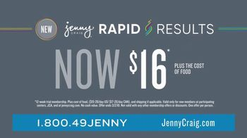 Jenny Craig Rapid Results TV Spot, 'Staying on Track' - Thumbnail 7