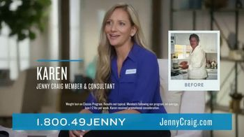 Jenny Craig Rapid Results TV Spot, 'Staying on Track' - Thumbnail 8