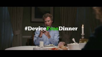 Common Sense Media TV Spot, 'Device-Free Dinner: Like' Feat. Will Ferrell