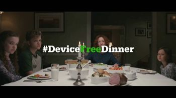 Common Sense Media TV Spot, 'Device-Free Dinner: Like' Feat. Will Ferrell - Thumbnail 8