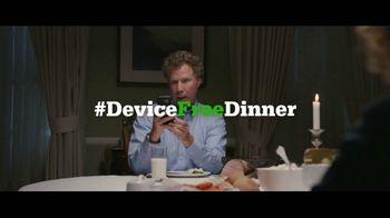 Common Sense Media TV Spot, 'Device-Free Dinner: Like' Feat. Will Ferrell